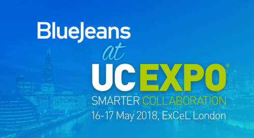 Meet BlueJeans at UC EXPO 2018