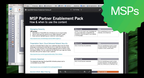 A better way to pitch security to SMBs:  Introducing the MSP Partner Enablement Pack