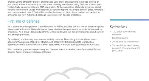 Cisco Umbrella for MSPs: what's new