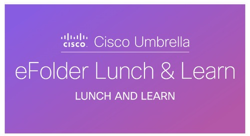 eFolder Lunch and Learn - Charlotte, NC