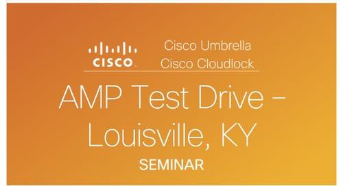 AMP Test Drive Louisville, KY