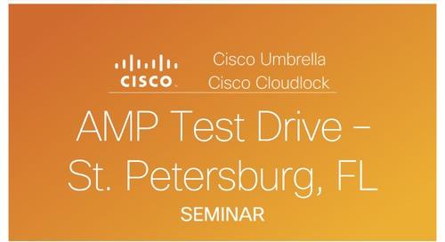 AMP Test Drive St. Petersburg, FL