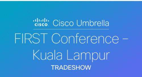 FIRST Conference 2018 Kuala Lampur, Malaysia