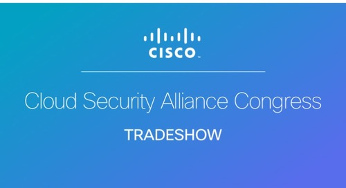 MISTI presents Cloud Security Alliance Congress