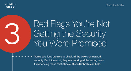 3 Red Flags You're Not Getting the Security You Were Promised