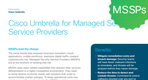 Cisco Umbrella for MSSPs