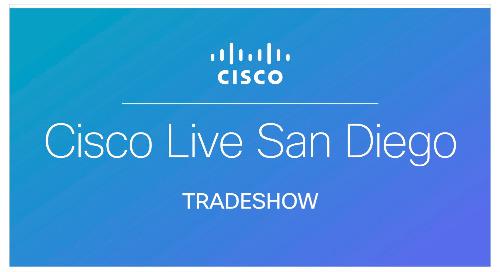 Cisco Live US - San Diego