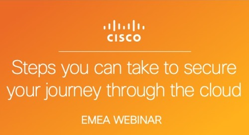 Steps You Can Take to Secure Your Journey Through the Cloud