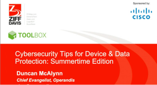 Cybersecurity Tips for Device & Data Protection: Summertime Edition