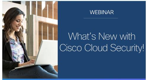 What's New with Cisco Umbrella?