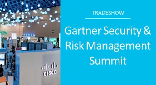 Gartner Security & Risk Management Summit London