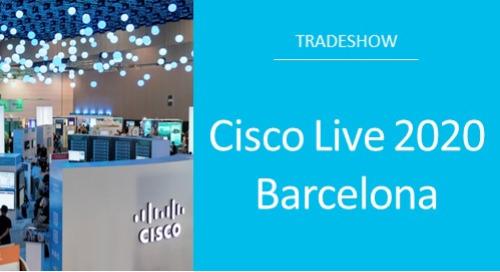Cisco Live 2020 Barcelona
