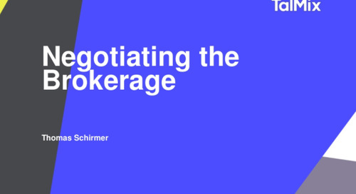 Slideshare: Negotiating the Brokerage
