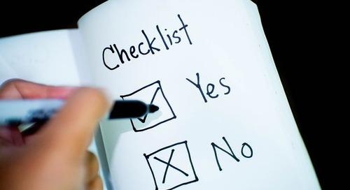 Your self-employment checklist