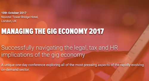 Join us at Knect 365 as we discuss the Gig Economy