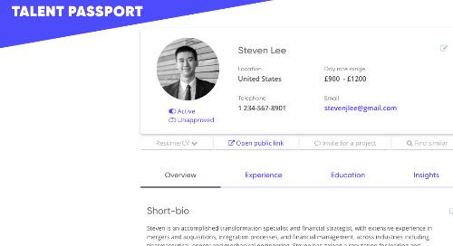 Talent Passport Now Live across the Talmix Network