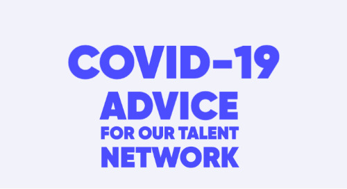 Advice for our Talent Network