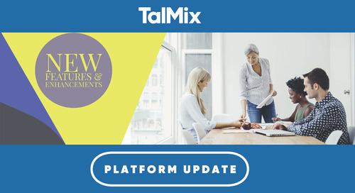 Talmix Platform Update