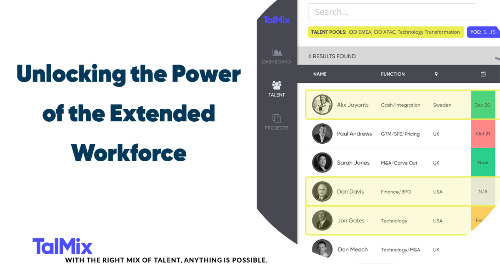 Unlocking the Power of the Extended Workforce