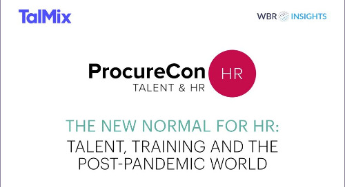 ProcureCon & Talmix: The New Normal For HR