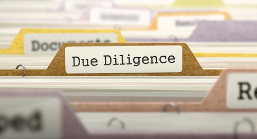 Proper due diligence is ongoing and never static