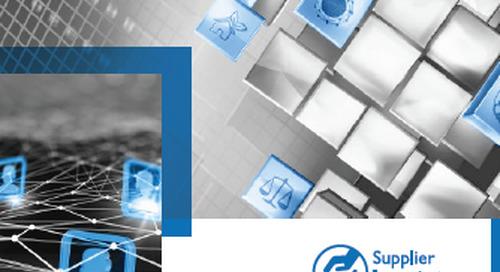 Product developments 16/17 - Supplier Integrity® | Suppliers Management Platform