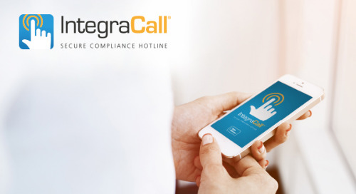 IntegraCall® | Secure Compliance Hotline - Product Developments