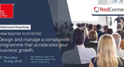 Hong Kong: Compliance & Integrity Risk Workshop Series 19 July 2018