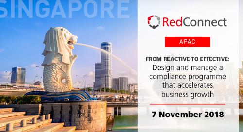 7 November 2018 - RedConnect Singapore