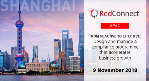 9 November 2018 - RedConnect Shanghai