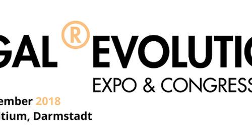 4 - 5 December LEGAL ®EVOLUTION 2018 (Darmstadt)