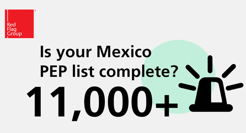 Is your Mexico PEP list complete?