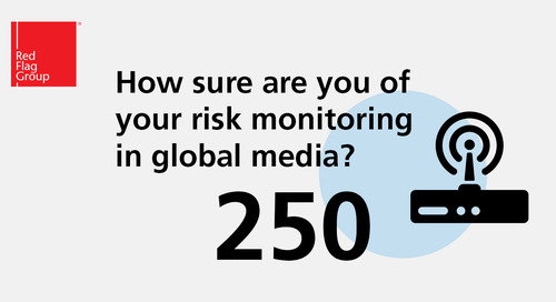 How sure are you of your risk monitoring in global media?