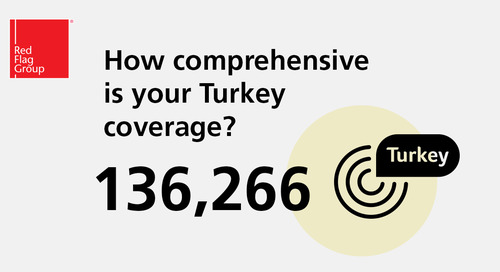 How comprehensive is your Turkey coverage?