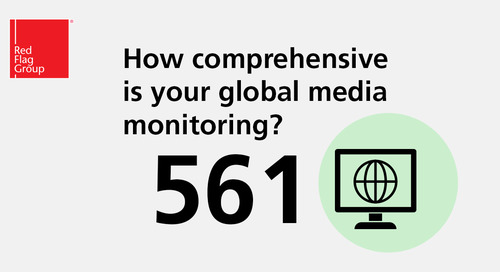 How comprehensive is your global media monitoring?
