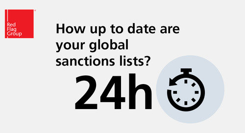 How up to date are your global sanctions lists?