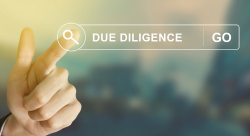 Kicking off a third party due diligence programme