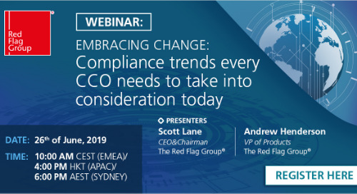 Webinar: Embracing change: Compliance trends every CCO needs to take into consideration today