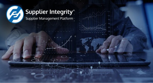 Supplier Integrity | Onboarding suppliers