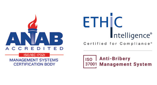ETHIC Intelligence® accredited by ANAB for its ISO 37001 certification