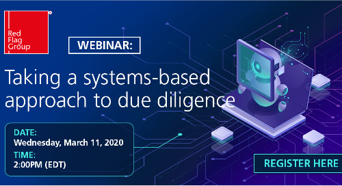 Webinar: Taking a systems-based approach to due diligence