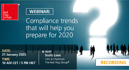 Webinar: Compliance trends that will help you prepare for 2020