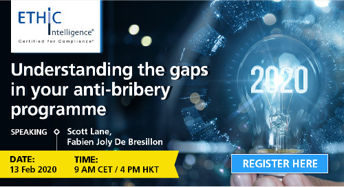Understanding the Gaps in Your Anti-Bribery Programme