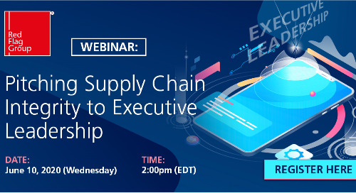 Webinar: Pitching Supply Chain Integrity to Executive Leadership