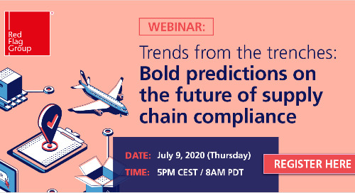 Webinar: Trends from the trenches: Bold predictions on the future of supply chain compliance