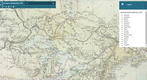 Cinqraisons d'explorer l'atlas vivant dans ArcGISOnline