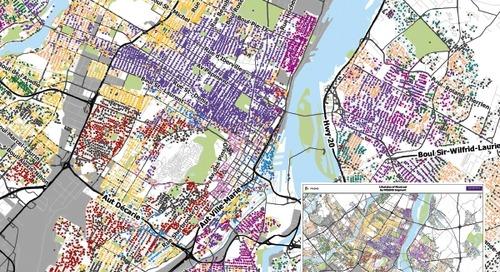 Styles de vie de Montréal en fonction des segments de PRIZM5