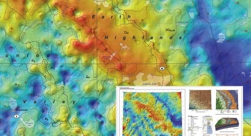 Paléotopographie de la discordance sous-jacente au Crétacé, secteur rivière de la Paix-lac des Esclaves, Alberta (SNRC 83N, 83O, 84C et 84B)