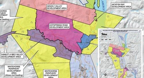 Règlements sur l'aménagement régional et zonage actuel ainsi que plans régionaux locaux en cours d'élaboration dans la région du grand White