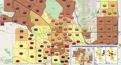 Signification locale des facteurs de risque d'obésité chez les jeunes – Quartiers résidentiels de Calgary